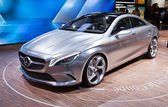 MOSCOW-SEPTEMBER 4: Mercedes concept coupe at the Moscow International Moto — Photo