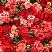 Abstracte achtergrond van bloemen — Stockfoto