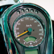 Stock Photo: Speed meter