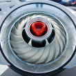 Futuristic turbine - Stockfoto