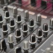 Sound and voice controlling equipment - Foto de Stock