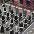 Sound and voice controlling equipment - Stock Photo