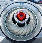 Turbina futurista — Foto Stock