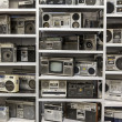 Old cassette recorders - Foto de Stock