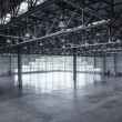 Interior of an empty warehouse — Foto Stock