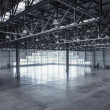 图库照片: Interior of empty warehouse