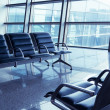 Seats in the airport — Stock Photo