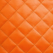 Orange leather background — Stock Photo