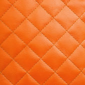 Orange leather background — Stock Photo