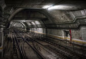 Underground Tunnel — Foto Stock