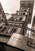 Santa Justa Elevator — Stock Photo