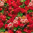 Stock Photo: Seamless flower background