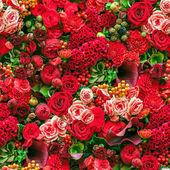 Seamless flower background — Stock Photo