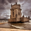 Tower of Belem (Torre de Belem) - Lisbon, Portugal — ストック写真