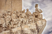 Monument to the Discoveries, Lisbon, Portugal, Europe — Stock Photo