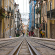 Street in Lisbon, Portugal — Stockfoto