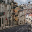 Street in Lisbon, Portugal — Stock Photo