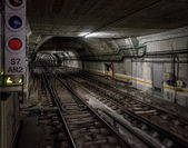 Underground tunnel — Stock Photo