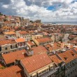 View from Mirador de Santa Lucia, Lisbon, Portugal — Stock Photo