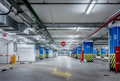 Underground parking — Stock Photo