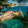 Coast near Petrovac — Stock Photo