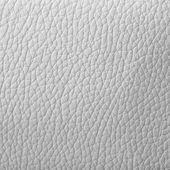 White leather background or texture — 图库照片