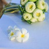 Lilawadee and wedding boquet — Stock Photo