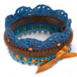 Knitted bracelet — Stockfoto