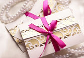 Wedding invitations — Stock Photo