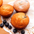 Blueberry muffins — Stock Photo #30036749