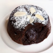 Chocolate fondant — Foto Stock