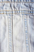 Jeans texture close-up — Stock Photo