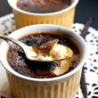 Creme-brulee dessert — Stock Photo