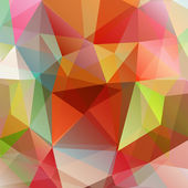 Abstract vector triangle backgound — Stock Vector