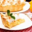 Homemade lemon pie — Stock Photo