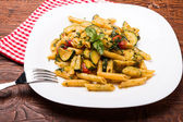 Penne with zucchini — Foto de Stock