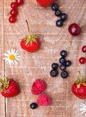 Mix di frutti di bosco — Foto Stock