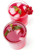 Cold berry drink — Stock Photo