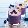 Blueberry smoothie — Stock Photo #50705515