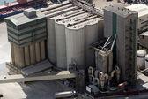 Terminal with storage tanks — Stock Photo