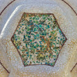 Stock Photo: Mosaic medallion
