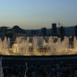 Fountain of Montjuic - Stock Photo