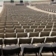 Row of the easy chair stadium - Stock Photo
