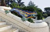 Lizard by Antoni Gaudi — Stock Photo