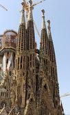 Facade La Sagrada Familia — Stock Photo