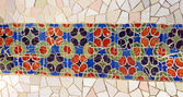 Tile mosaic wall — Stock Photo