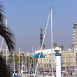 View of Port Vell - Stock Photo