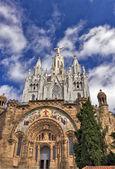 The Temple del Sagrat Cor — Stock Photo