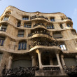 Casa Mila in Barcelona, Spain - Stock Photo