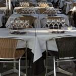 Restaurant foreground — Stock Photo #21921277